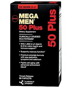 GNC Mega Men 50 Plus (60 капсул, 30 порций)