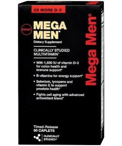GNC Mega Men (90 капсул, 45 порций)