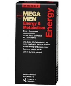 GNC MEGA MEN ENERGY & METABOLISM (90 капсул)