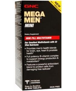 GNC Mega Men Mini (90 таблеток, 45 порций)