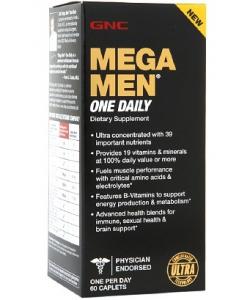GNC Mega Men One Daily (60 капсул, 30 порций)