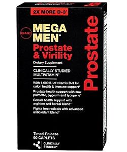 GNC Mega Men Prostate and Virility (90 капсул)