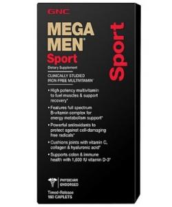 GNC MEGA MEN SPORT (180 капсул)