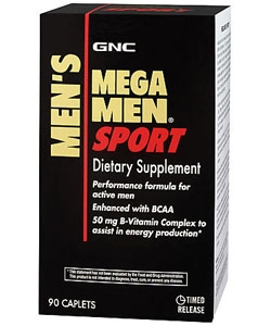 GNC Mega Men Sport (90 капсул)