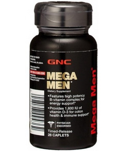GNC MEGA MEN (28 капсул)
