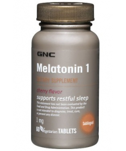 GNC MELATONIN 1 (60 таблеток)