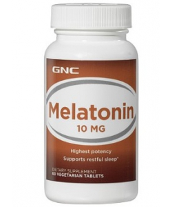 GNC MELATONIN 10 (60 таблеток)