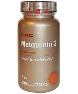 GNC Melatonin 3 (120 таблеток)