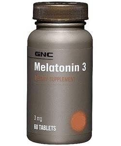 GNC Melatonin 3 (60 таблеток, 60 порций)
