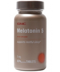 GNC MELATONIN 5 (60 таблеток)