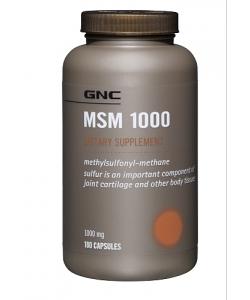 GNC MSM 1000 (180 капсул)