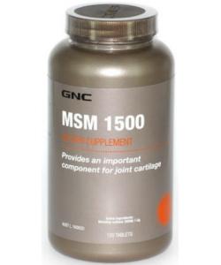 GNC MSM 1500 (120 таблеток, 120 порций)