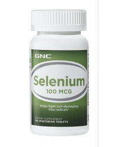 GNC SELENIUM 100 mg 100 tab (100 таблеток, 100 порций)