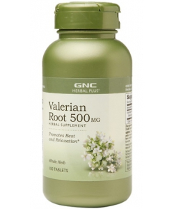 GNC Valerian Root 500 mg (100 таблеток)