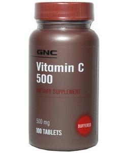 GNC Vitamin C 500 (100 таблеток)