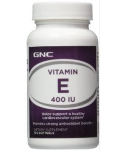 GNC Vitamin E 400 IU (100 капсул)