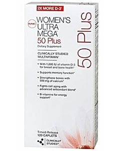 GNC Women's Ultra Mega 50 Plus (120 капсул)