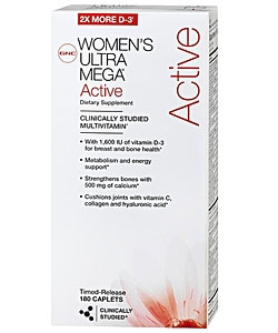 GNC Women's Ultra Mega Active (180 капсул)