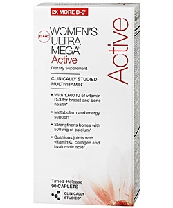 GNC Women's Ultra Mega Active (90 капсул, 45 порций)