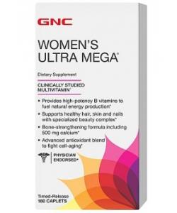 GNC Women's Ultra Mega (180 капсул)