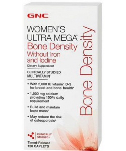 GNC Womens UM Bone Density no Iron and Iodine (120 таблеток, 30 порций)