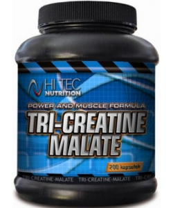 Hi Tec Nutrition Tri-Creatine Malate (200 капсул, 50 порций)