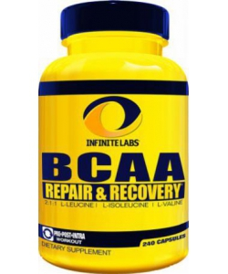 Infinite Labs BCAA Repair Recovery (240 капсул, 40 порций)