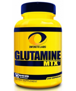 Infinite labs Glutamine MTX (240 капсул, 40 порций)