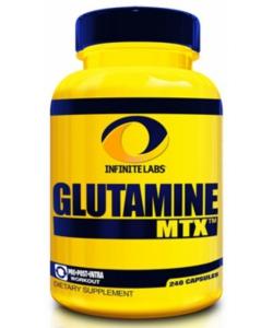 Infinite labs Glutamine MTX (240 капсул, 40 порций)