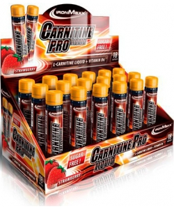 IronMaxx Carnitine Pro Liquid 18x25 ml (450 мл, 18 порций)