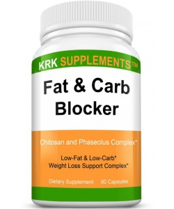 KRK Supplements Fat & Carb Blocker (90 капсул, 90 порций)