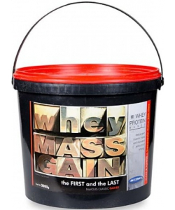 Megabol Whey Mass Gain (3000 грамм, 30 порций)