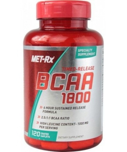Met-Rx BCAA 1800 (120 капсул, 30 порций)
