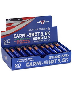 MEX Muscle Excellence Carni-Shot 3500 mg 20x70 ml (1400 мл)