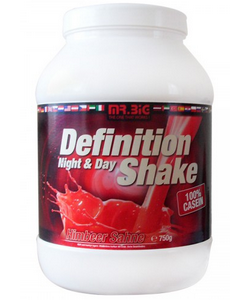 Mr. Big Definition Shake 100% Casein Night & Day (750 грамм, 25 порций)