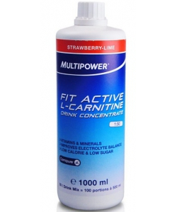 Multipower Fit Active L-carnitine Drink Concentrate (1000 мл, 142 порции)