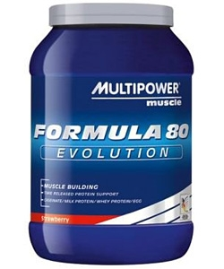 Multipower Formula 80 Evolution (750 грамм, 25 порций)