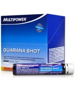 Multipower Guarana Shot 20x25 ml (500 мл, 20 порций)
