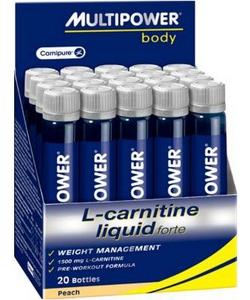 Multipower L-Carnitine Liquid Forte 20x25 ml (500 мл, 20 порций)