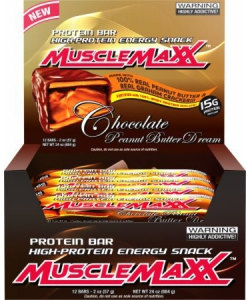 MuscleMaxx Protein Bar 12x57 g (684 грамм, 12 порций)