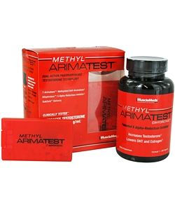 MuscleMeds Methyl Arimatest (180 таблеток)