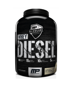 MusclePharm Hardcore Whey Diesel (1800 грамм, 46 порций)