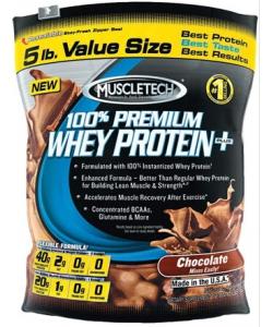 MuscleTech 100% Premium Whey Protein Plus (907 грамм, 27 порций)
