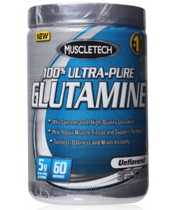 MuscleTech 100% Ultra-Pure Glutamine (300 грамм)