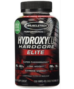 MuscleTech Hydroxycut Hardcore Elite (200 капсул)