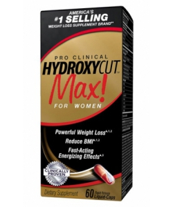 MuscleTech Hydroxycut MAX Pro Clinical (60 капсул, 30 порций)