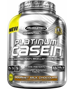 MuscleTech Platinum 100% Casein Essential Series (1700 грамм, 55 порций)
