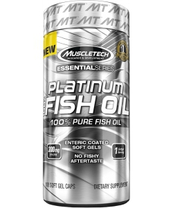 MuscleTech Platinum 100% Fish Oil Essential Series (100 капсул)