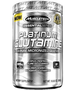 MuscleTech Platinum 100% Glutamine (300 грамм)