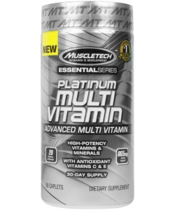 MuscleTech Platinum Multi Vitamin Essential Series (90 капсул)